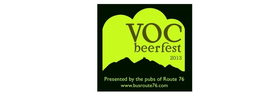 VOC Beerfest – Saturday 4th October 2014